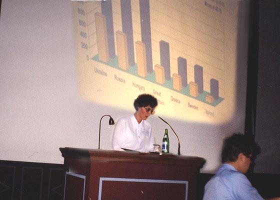 Доклад Л.П. Гуцол (Украина) на Конгрессе в Будапеште (2000)