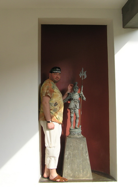 А.П. Иванив в «Lighthouse Hotel» (Галле, Шри Ланка, 01.01.2008)